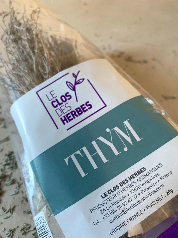 Le Clos des Herbes, producteur de Thym sec en Provence